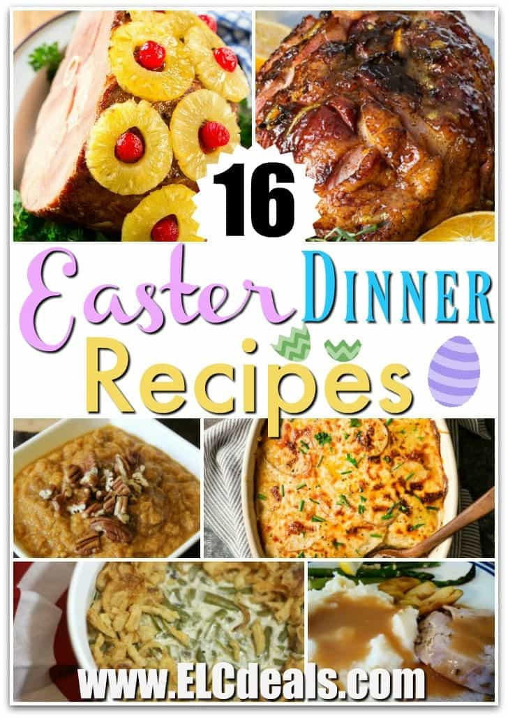 Easter Dinner Ideas 2019  16 Easter Dinner Recipes PIN THIS