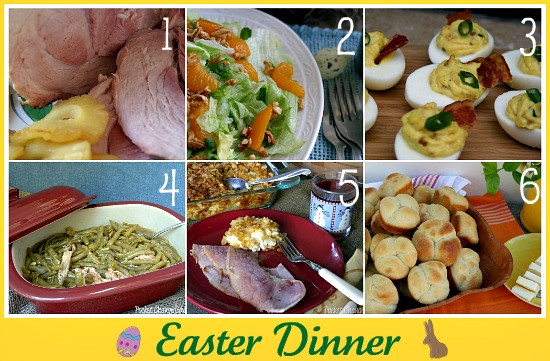 Easter Dinner Ideas.No Ham  Easter Recipe Round up Recipe