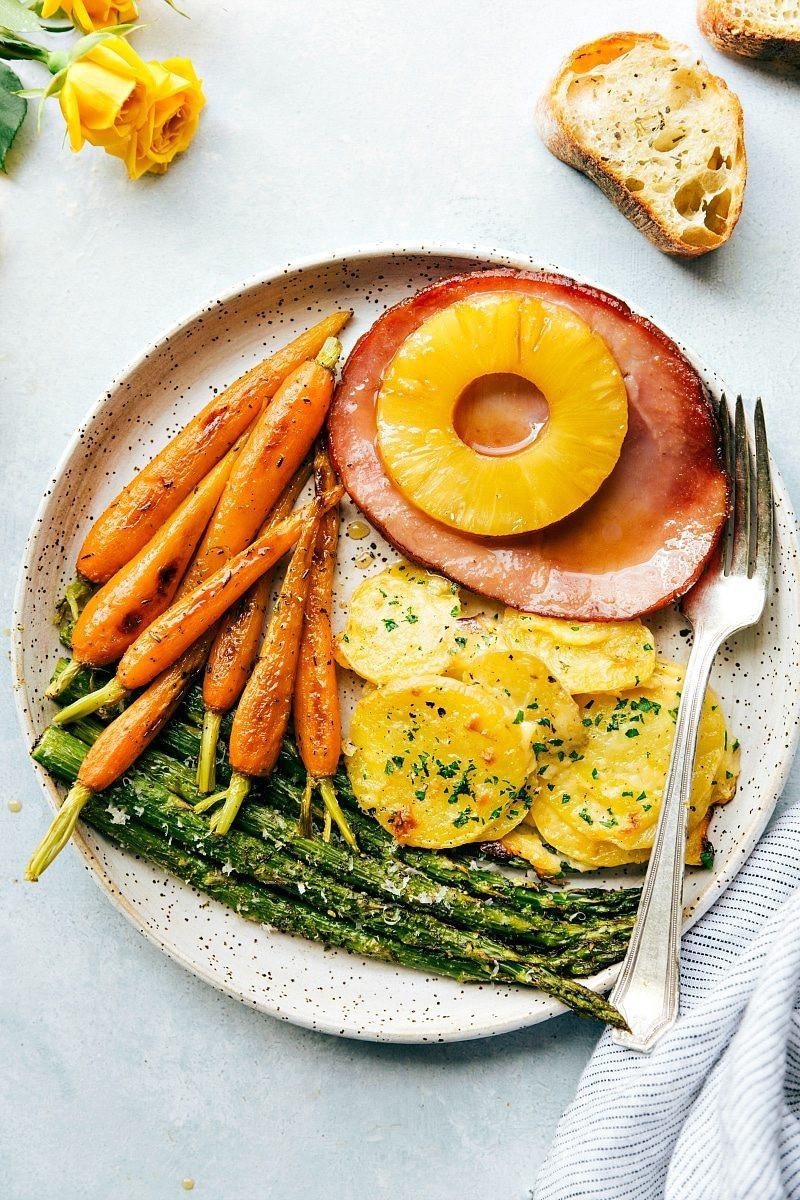 Easter Dinner Ideas.No Ham  e Hour Easter Dinner Chelsea s Messy Apron