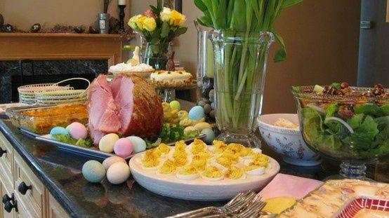 Easter Dinner Ideas Pinterest  easter dinner ideas Easter Dinner