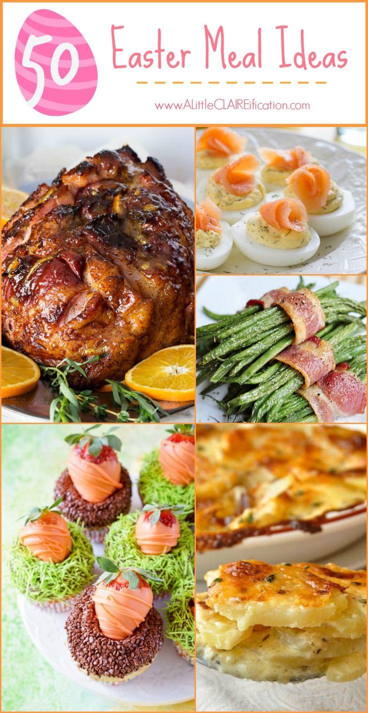 Easter Dinner Ideas Pinterest  25 best Easter Meal Ideas on Pinterest