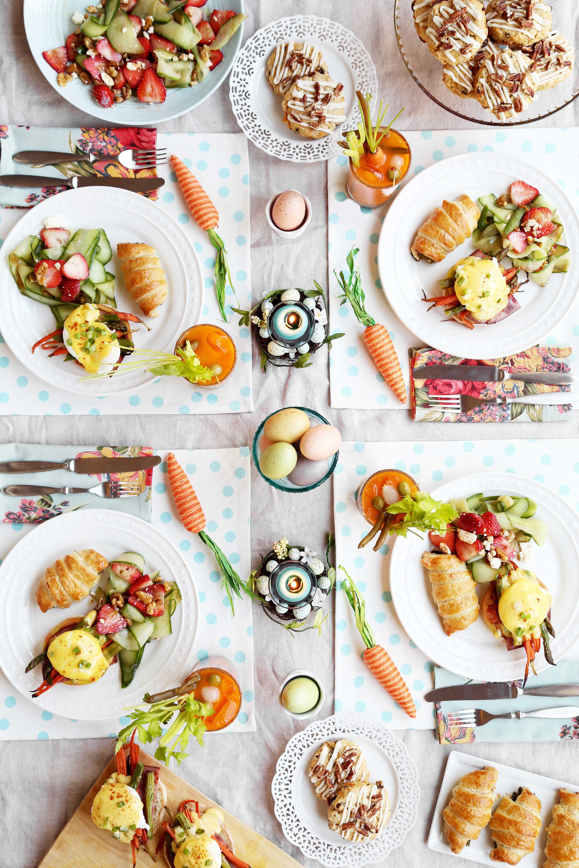 Easter Dinner Ideas Pinterest  Easter Brunch The Candid Appetite