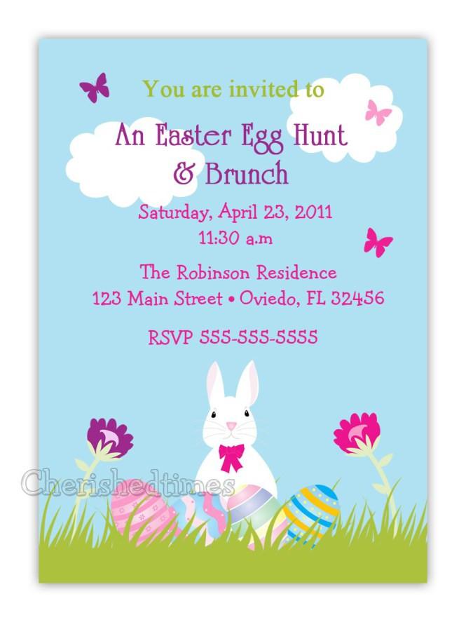 Easter Dinner Invitations  Easter Dinner Invitation Wording Happy Easter Sunday Site