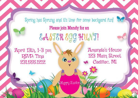 Easter Dinner Invitations  17 Best images about Easter Dinner & Party Invitations on