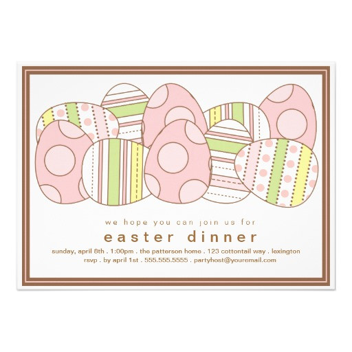 Easter Dinner Invitations  Most Popular Easter Party Invitations