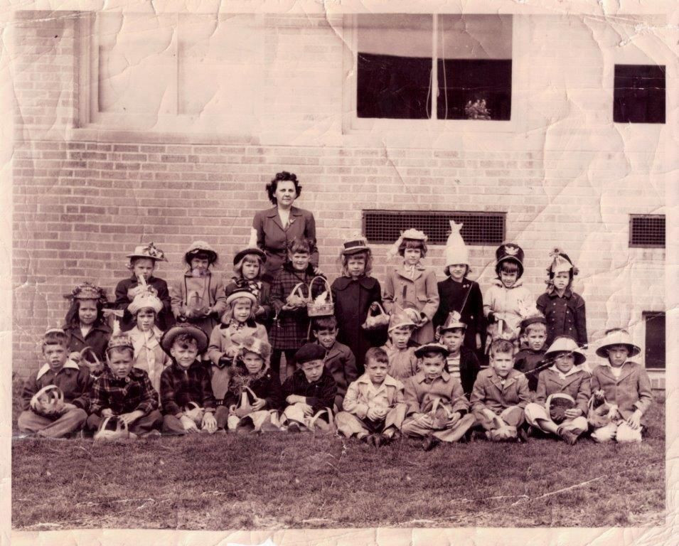 Easter Dinner Lancaster Pa  Lancaster That Was This Manheim Township kindergarten