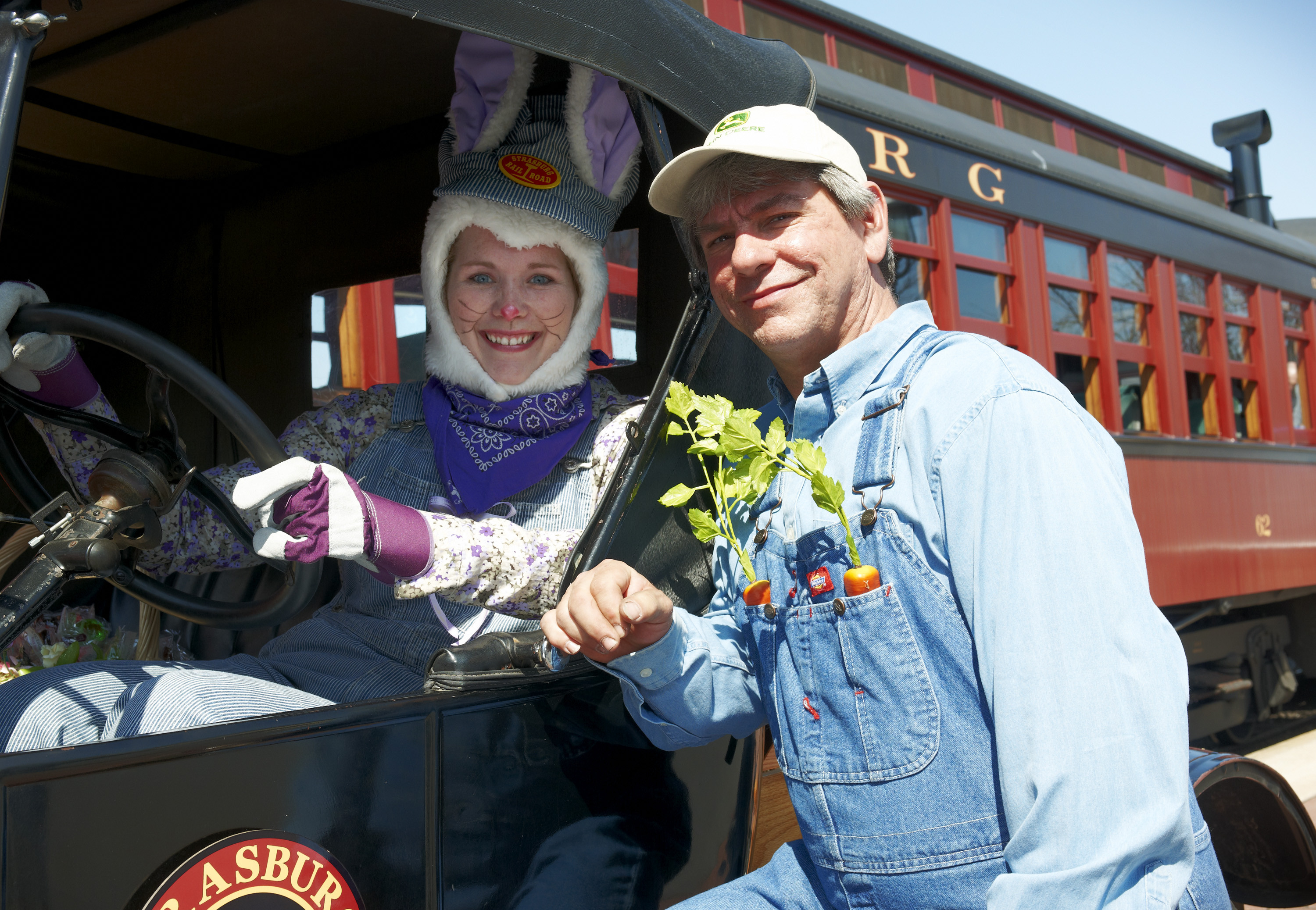 Easter Dinner Lancaster Pa  Easter Bunny Heads to Strasburg March 25 27 for a Ride