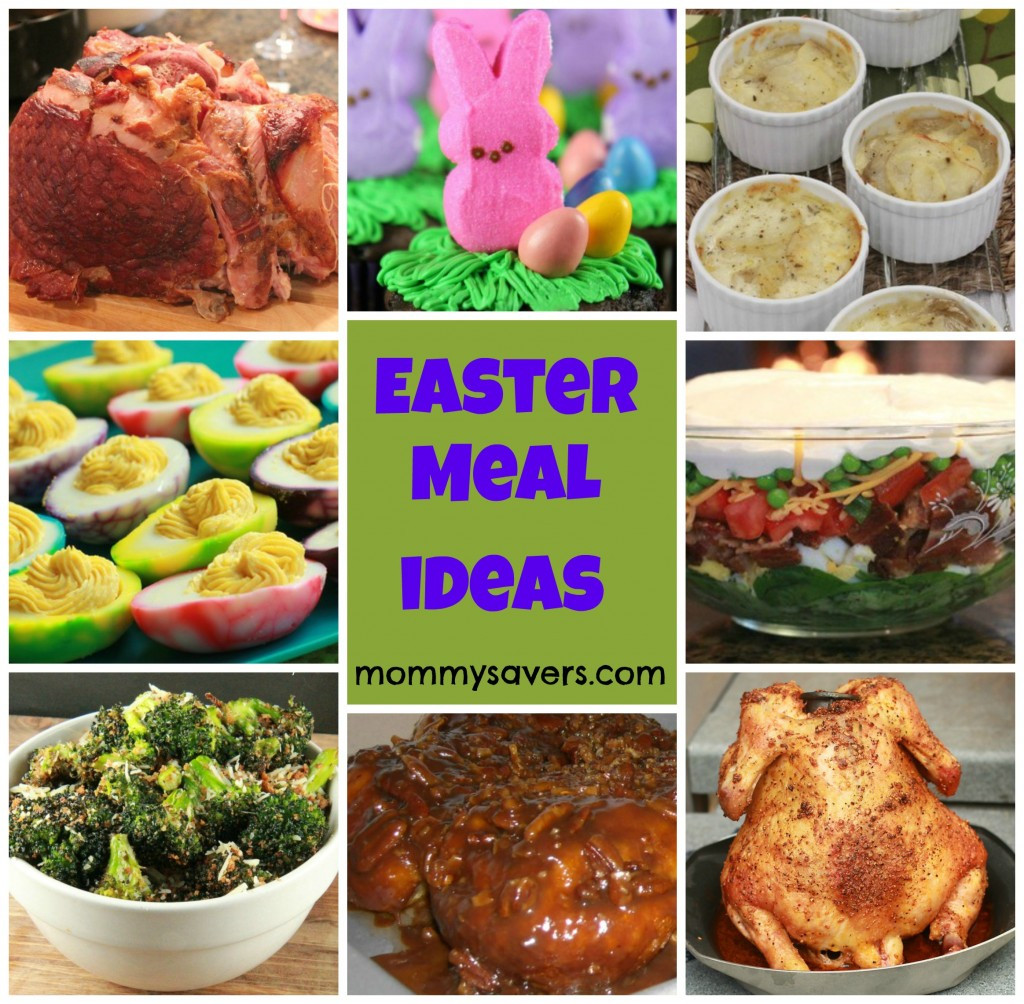 Easter Dinner Meal Ideas  Easter Meal Ideas Mommysavers