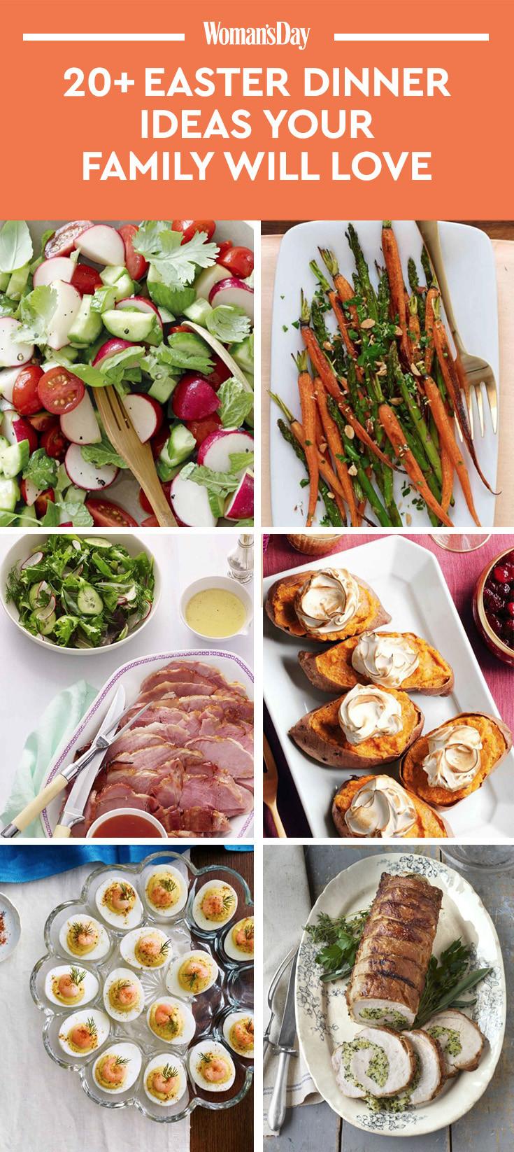 Easter Dinner Menu  21 Easy Easter Dinner Ideas Recipes for the Best Easter