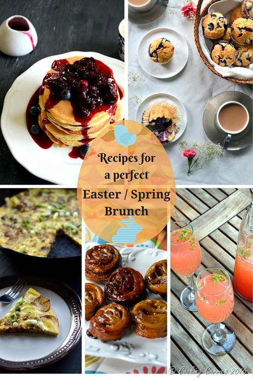 Easter Dinner Menu For A Crowd  Recipes for a Perfect Easter Spring Brunch Cooking Curries