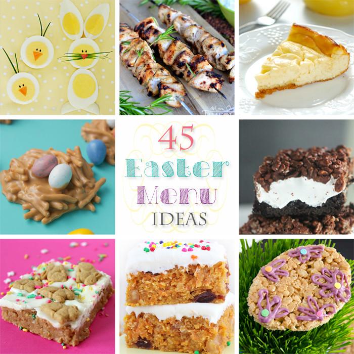 Easter Dinner Menu Ideas  45 Easter Menu Ideas Kleinworth & Co
