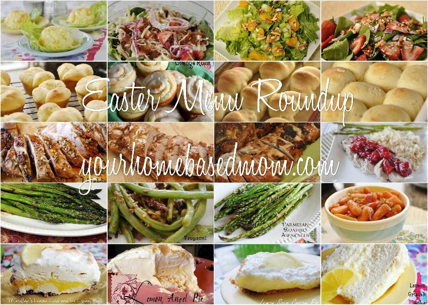 Easter Dinner Menu Ideas  Easter Menu Roundup