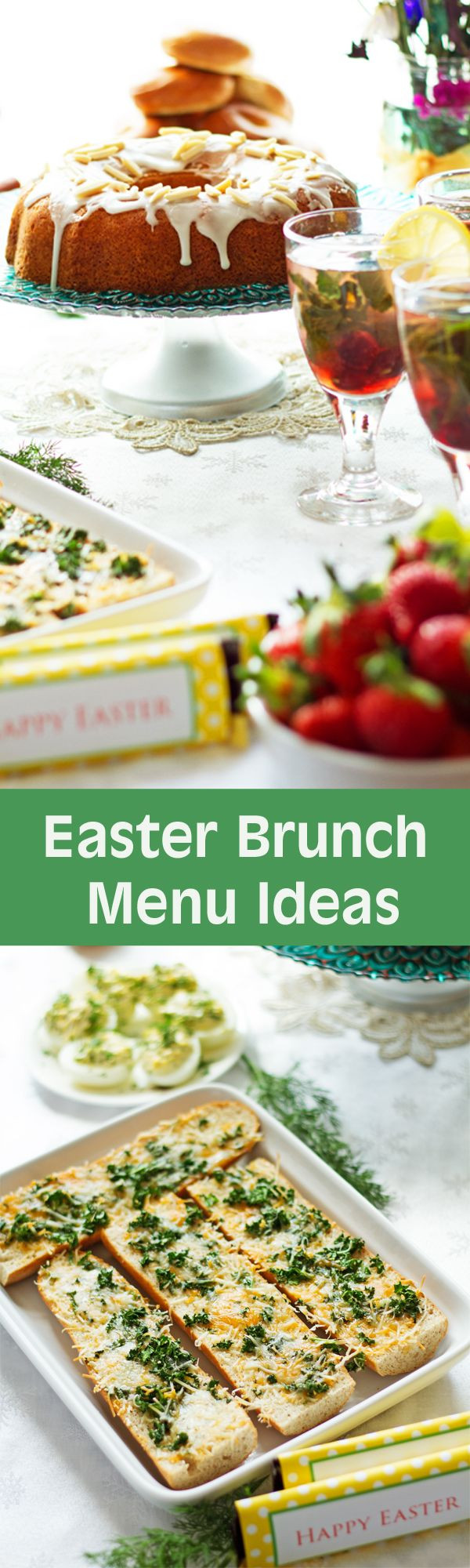 Easter Dinner Menu Ideas And Recipes  Easter Brunch Menu Ideas with Recipes