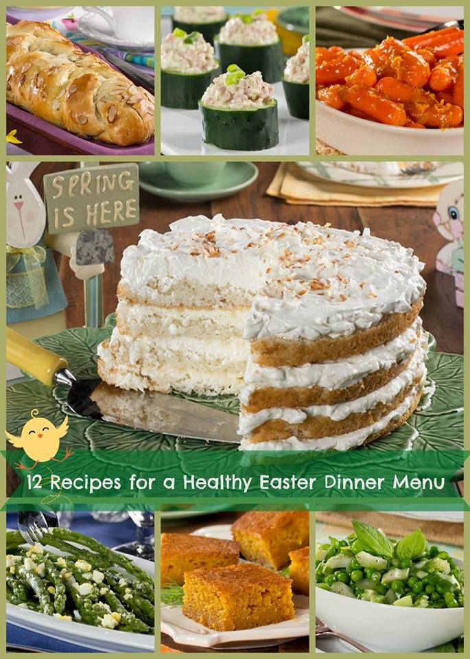 Easter Dinner Menu Ideas And Recipes  12 Recipes for a Healthy Easter Dinner Menu From