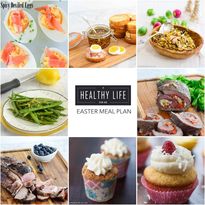 Easter Dinner Menu Ideas  Elegant Easter Menu A Healthy Life For Me