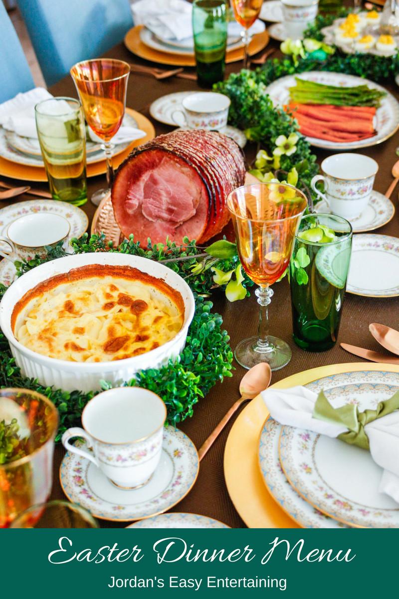 Easter Dinner Menus  Easter Dinner Menu and Serving Suggestions – Jordan s Easy