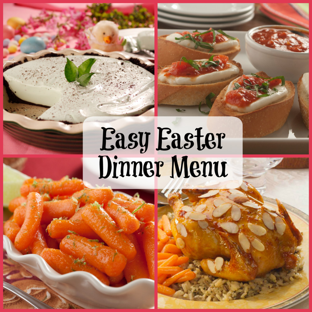 Easter Dinner Menus And Recipes  Easy Easter Dinner Menu