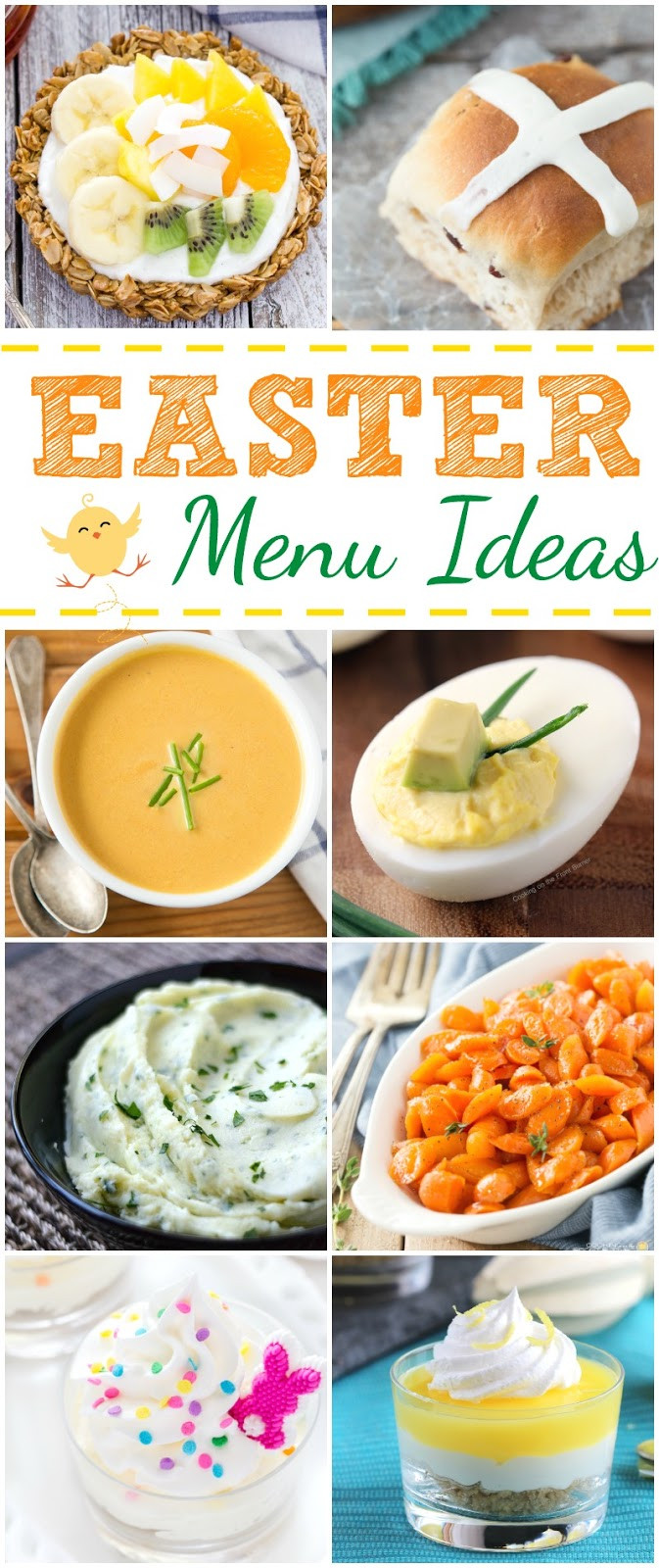 Easter Dinner Menus And Recipes  Easter Menu Ideas
