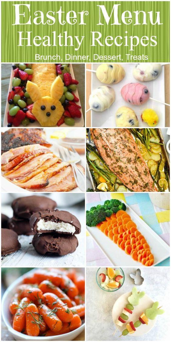 Easter Dinner Menus  Low Fat Easter Menu Ideas Anal Glamour