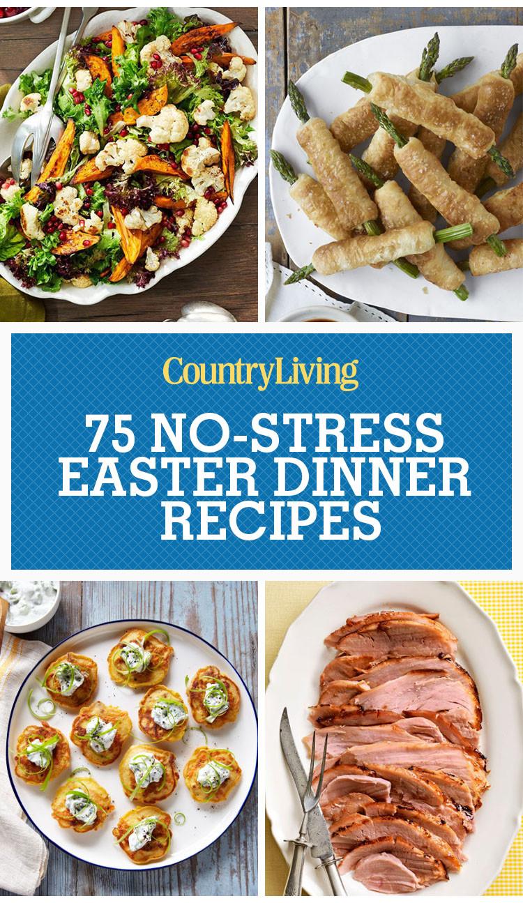Easter Dinner Menus  70 Easter Dinner Recipes & Food Ideas Easter Menu