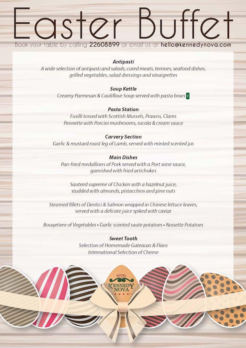 Easter Dinner Menus  Easter Lunch Menu – Download