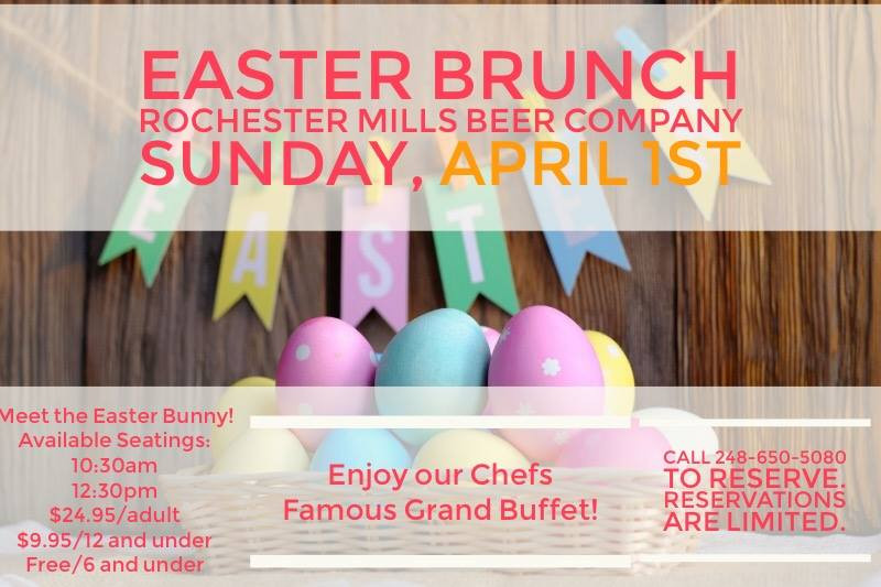 Easter Dinner Rochester Ny  Up ing Events Easter Brunch