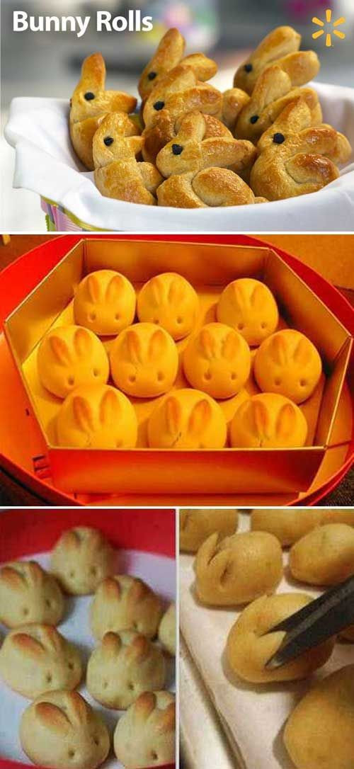 Easter Dinner Rolls  25 best ideas about Bunny rolls on Pinterest