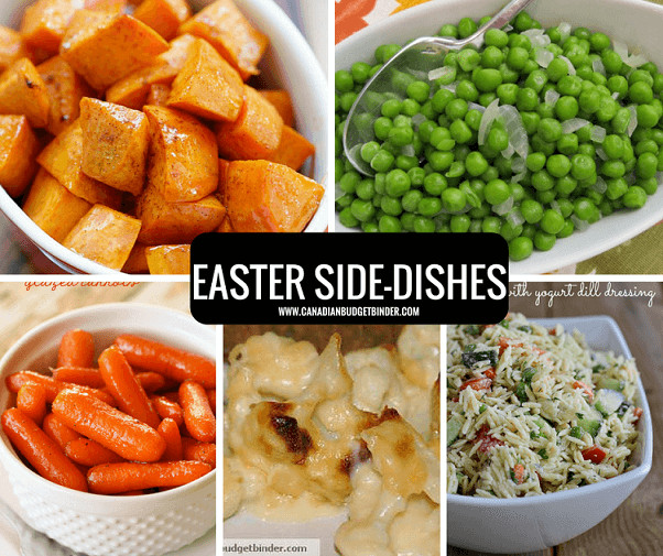 Easter Dinner Side Dish Ideas  Exclusive Easter Menu Ideas To Fit Your Bud The