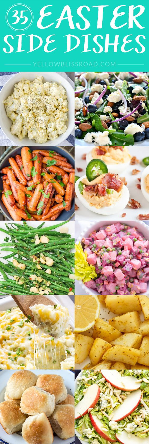 Easter Dinner Side Dish Ideas  Easter Side Dishes