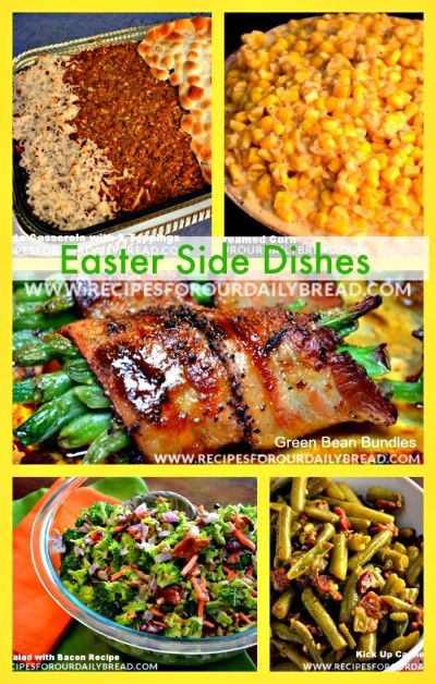 Easter Dinner Side Dish Ideas  34 Best images about Easter Breakfast Lunch Dinner Ideas