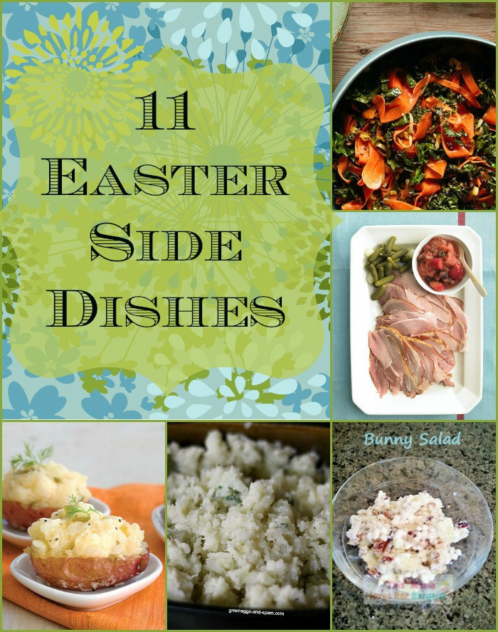 Easter Dinner Side Dishes  PicMonkey Collage 1