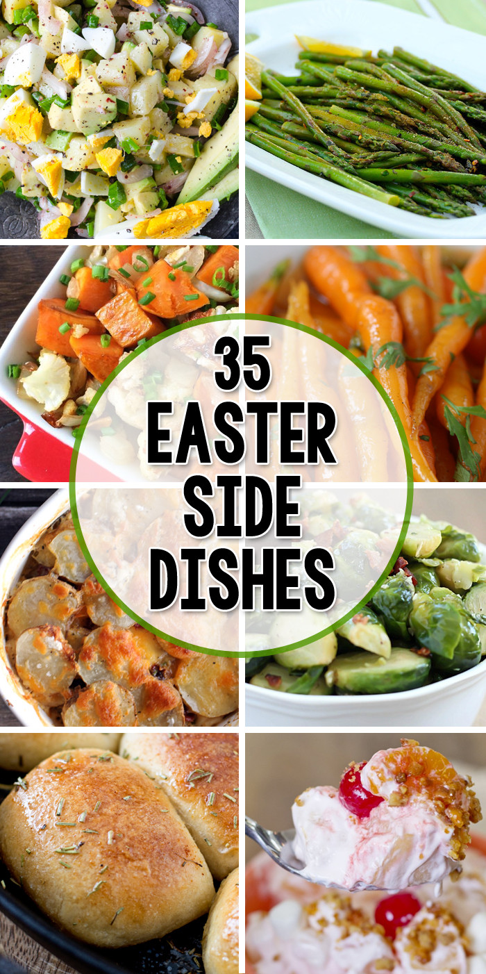 Easter Dinner Side Dishes  35 Side Dishes for Easter Yellow Bliss Road