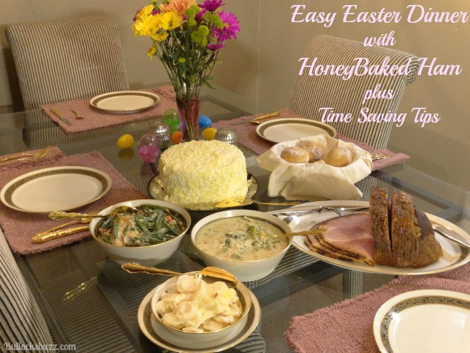 Easter Dinner Sides With Ham  Enjoy Easter Dinner with HoneyBaked Ham Money Saving