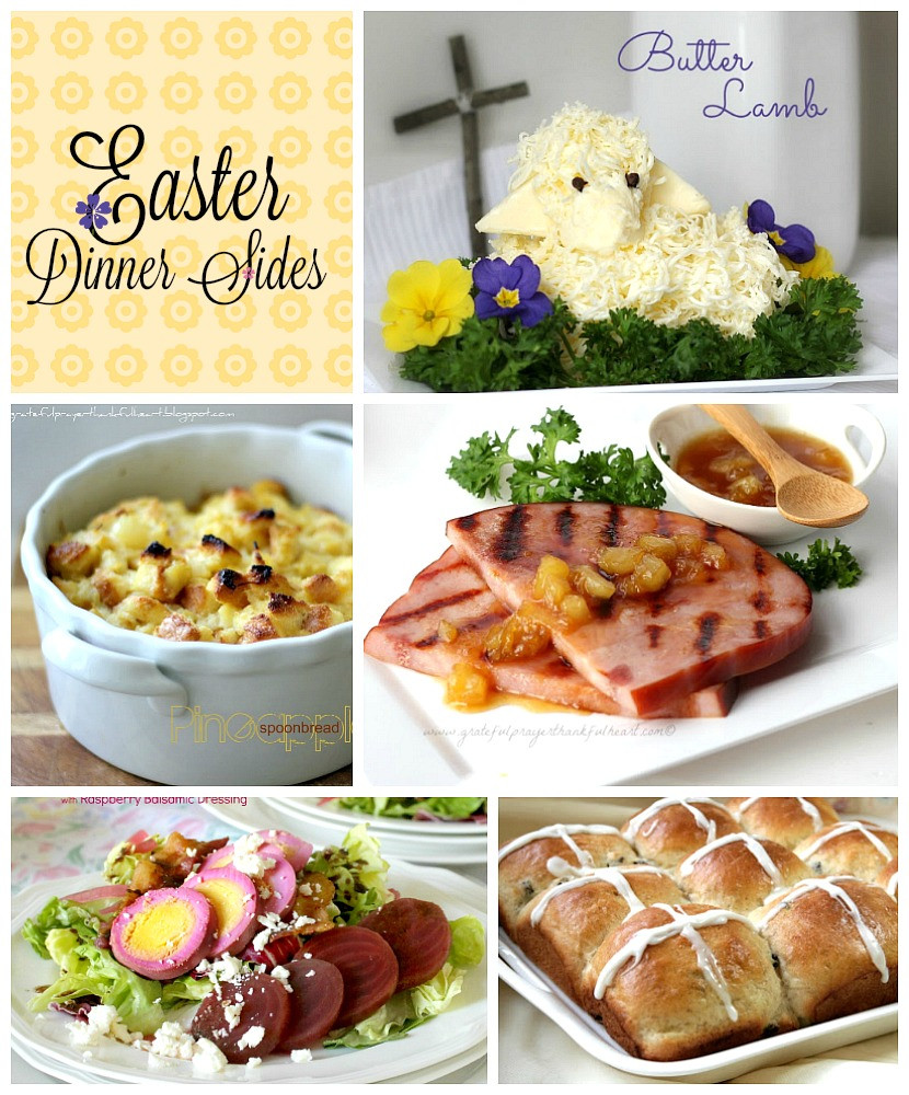 Easter Dinner Sides With Ham  Easter Dinner Side Dishes Grateful Prayer