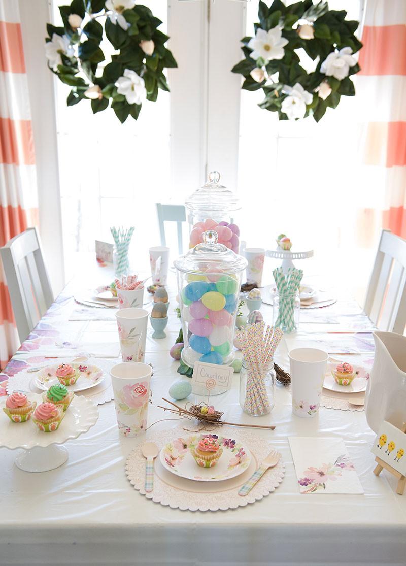 Easter Dinner Table Settings  47 Easter Dinner Table Setting Ideas Easter Dinner Table