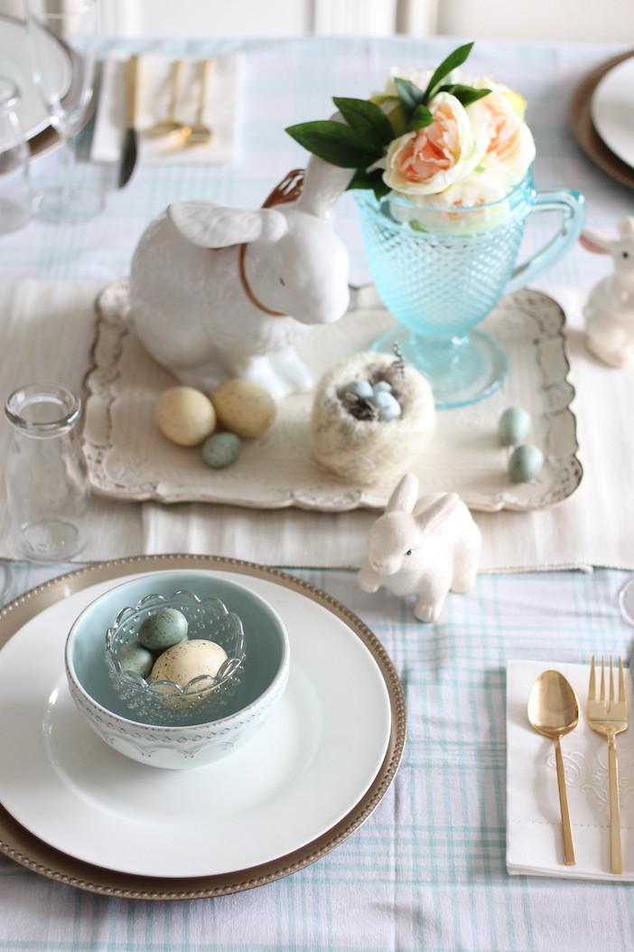 Easter Dinner Table Settings  Setting The Table For Easter Dinner Jillian Harris