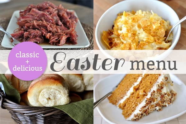 Easter Dinners Menu 20 Best My Easter Dinner Menu Other Easter Favorites