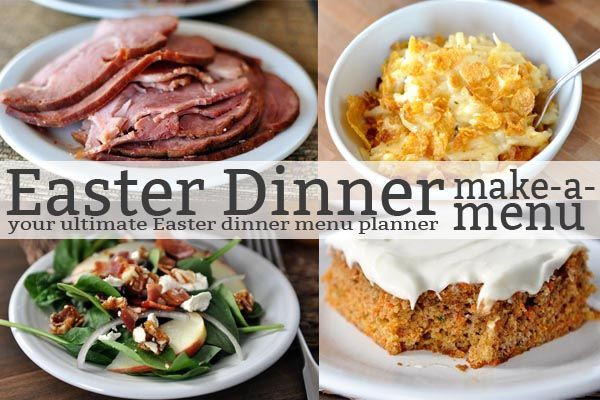 Easter Dinners Menu  45 best images about Mel s Easter Recipes on Pinterest