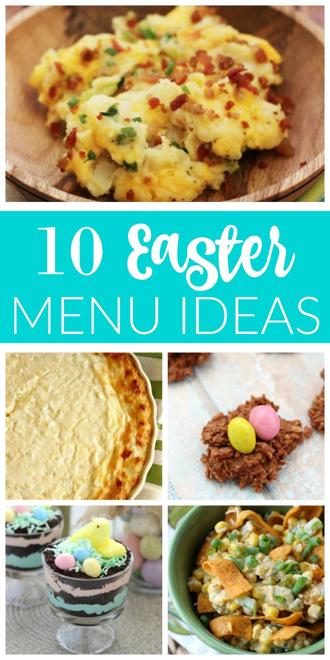Easter Dinners Menu  10 Easter Menu Ideas Diary of A Recipe Collector