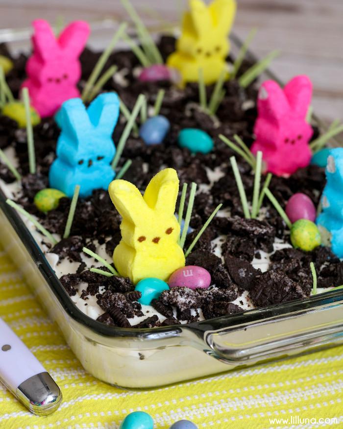Easter Dirt Cake Recipe  BEST Easter Dirt Cake
