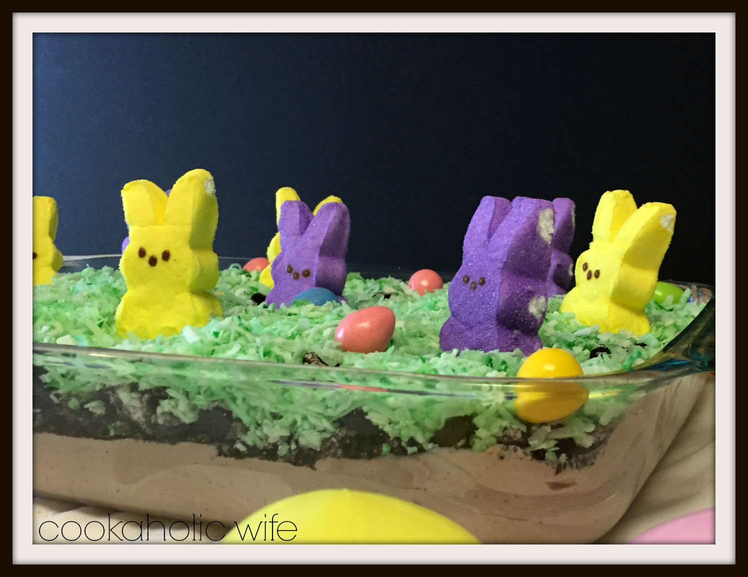 Easter Dirt Cake Recipe  Easter Dirt Cake Cookaholic Wife