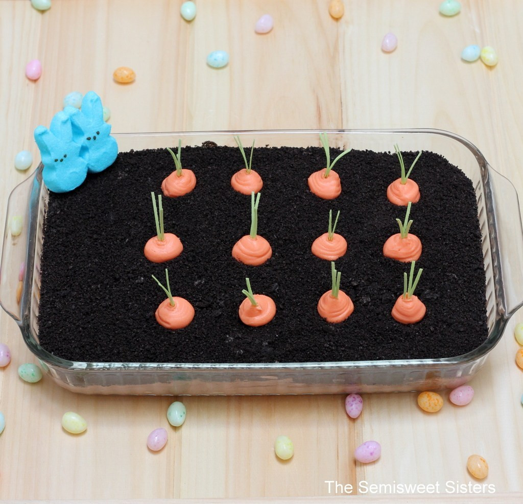 Easter Dirt Cake Recipe  Oreo Easter Dirt Cake