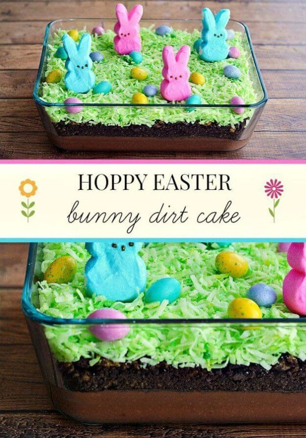 Easter Dirt Cake Recipe  23 Easter Desserts with Peeps Spaceships and Laser Beams