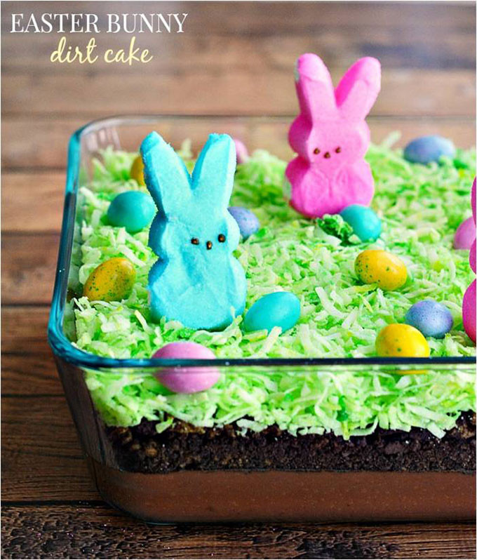 Easter Dirt Cake Recipe  The Best Easter Desserts EVER