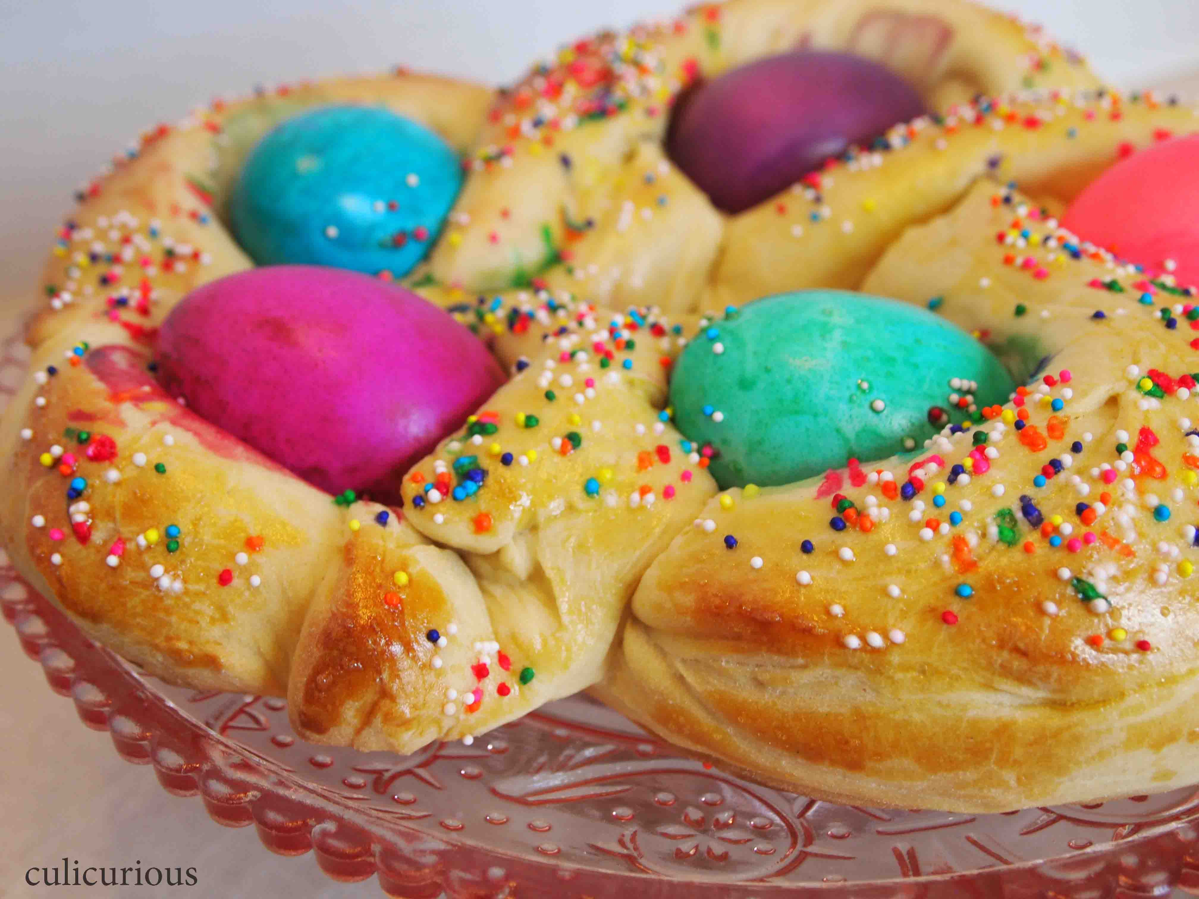Easter Egg Bread  Braided Easter Bread Recipe TwelveLoaves