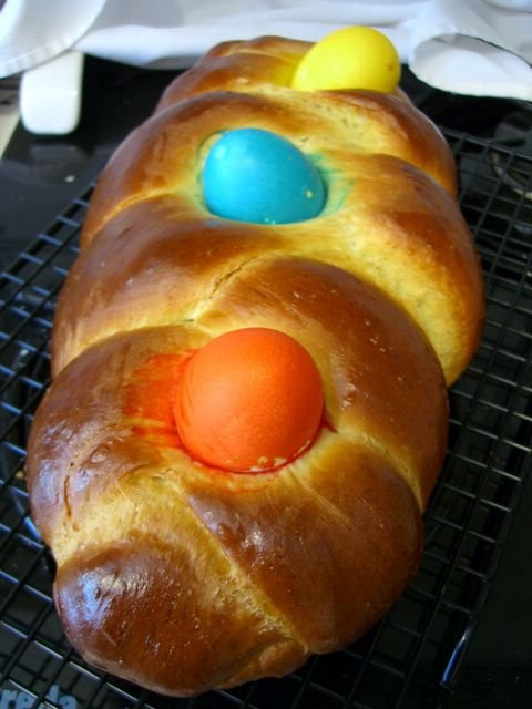 Easter Egg Bread  Easter Egg Challah Baking Bites