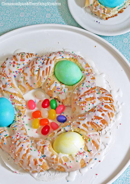 Easter Egg Bread  Italian Easter Egg Bread