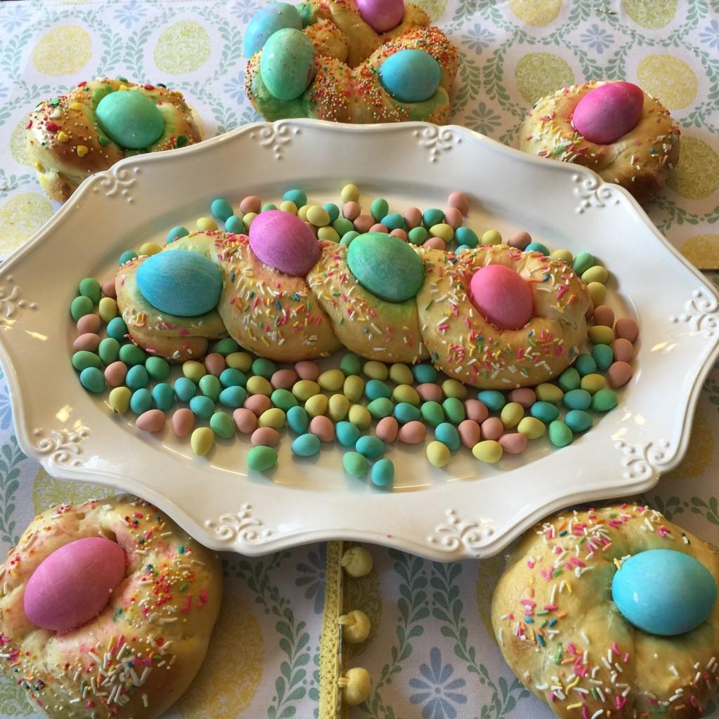 Easter Egg Bread Recipe  Italian Easter Egg Bread Recipe Little Monkey Designs