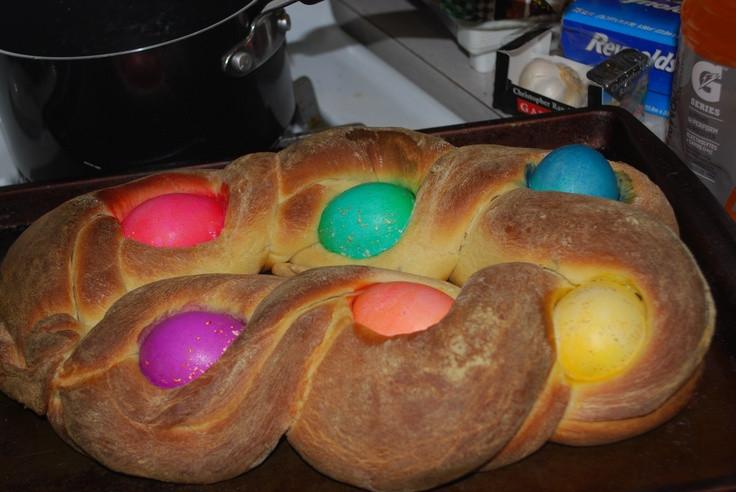 Easter Egg Bread Recipe  Braided Easter Egg Bread Recipe — Dishmaps