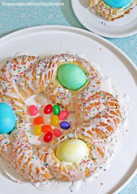 Easter Egg Bread Recipe  Italian Easter Egg Bread